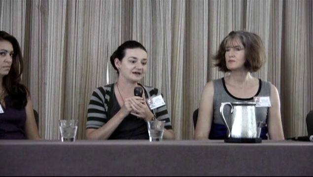 premature publication panel at Southern California Writers' Conference.